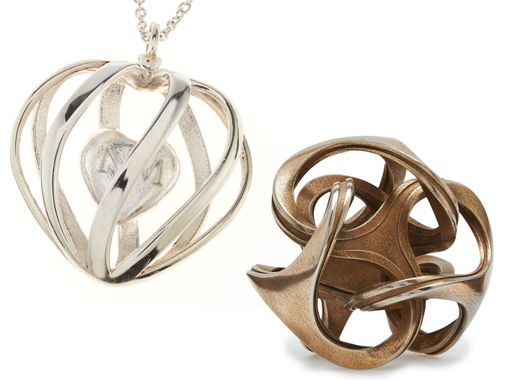 3D Printed Silver Jewellery