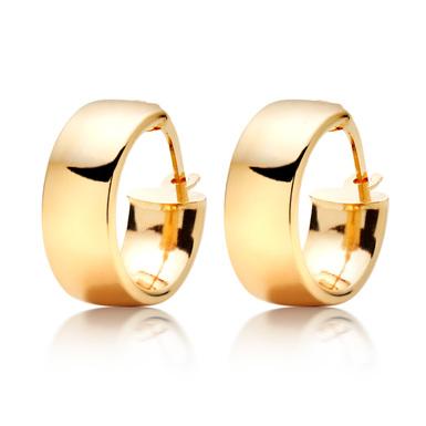 9K Gold Hoop Earrings by Beaverbrooks