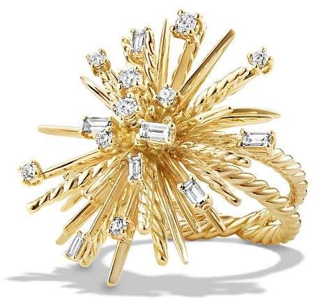 David Yurman Supernova Ring in 18k Gold