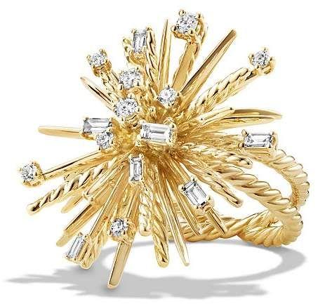 David Yurman Supernova Ring in 18k Gold