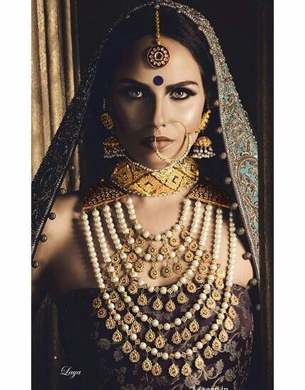 Maharani Necklace with multiple layers