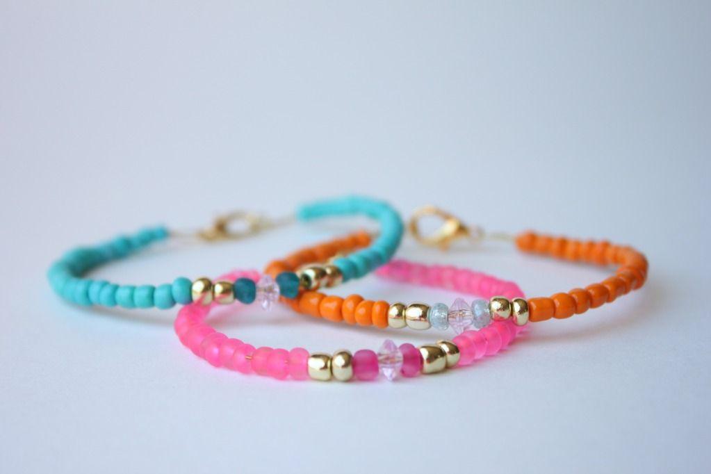 DIY Glass Bracelet