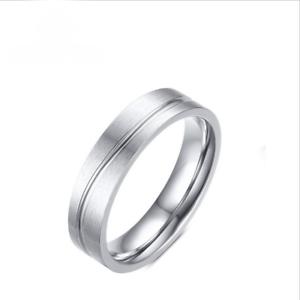 Stainless Steel Promise Ring For Men