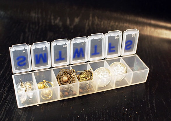Pill Case for Jewellery