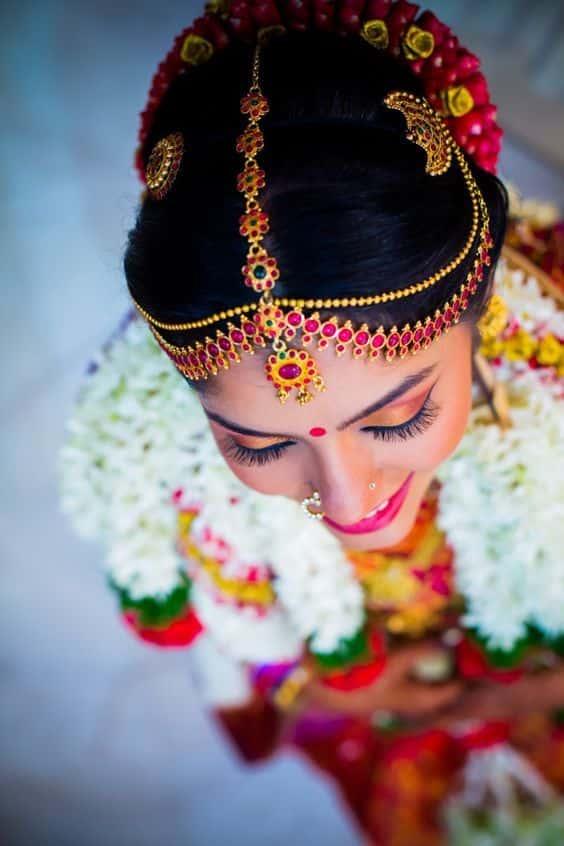 Bridal Nethichutti