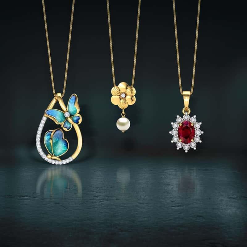 Bestselling CaratLane pendants