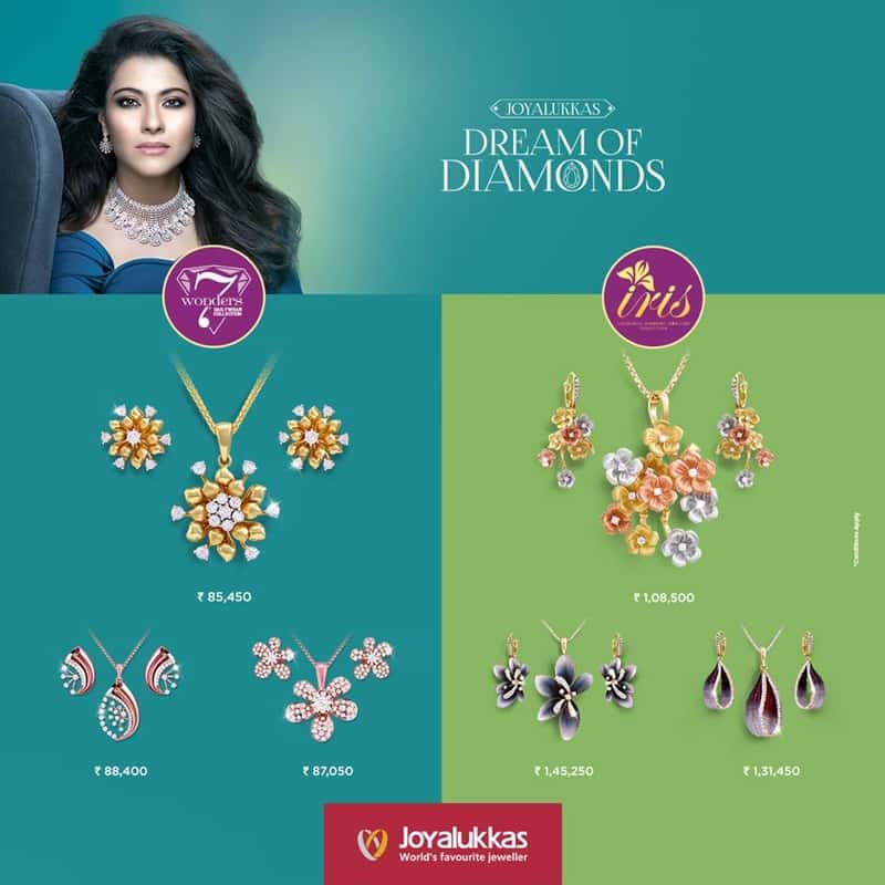 Kajol for Joy Alukkas
