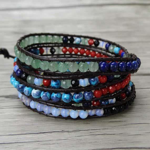 Wrap Bracelet by MingHandmade