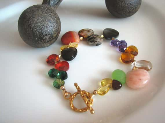 Assorted Gemstone Bracelet By RSTDesigns
