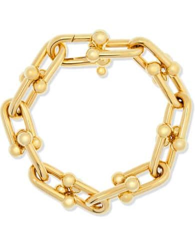 Gold Link Bracelet By Tiffany's