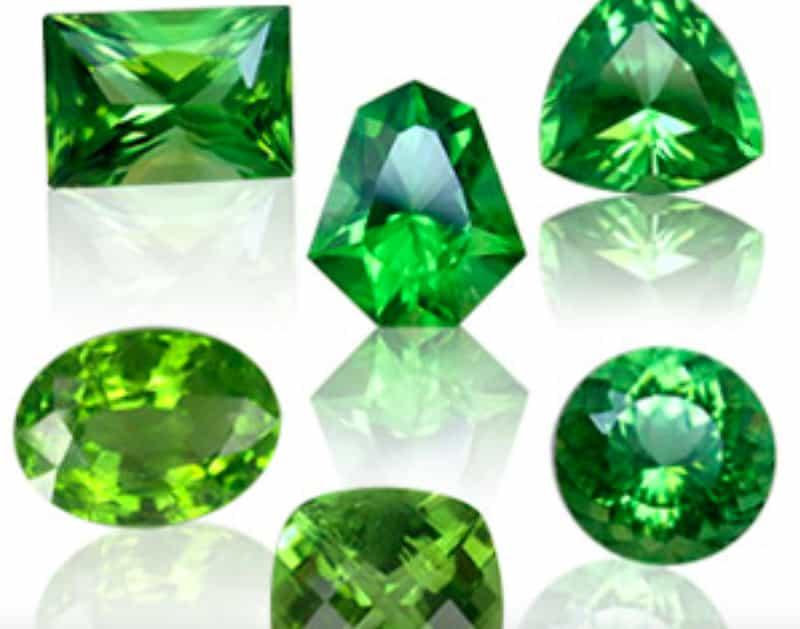 Leo Birthstone Colour: Lush Green
