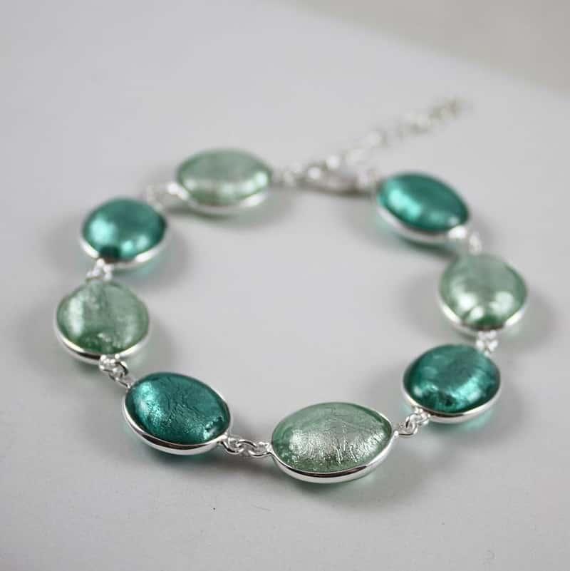 Rosetta bead bracelets
