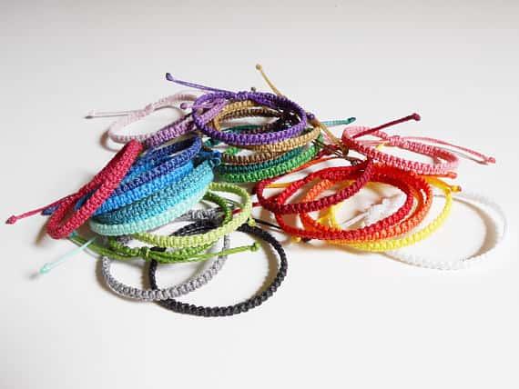 Woven Bracelets by CaiMonkeyCrafts