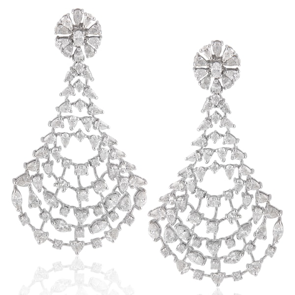 Diamond Earrings By RK Jewellers