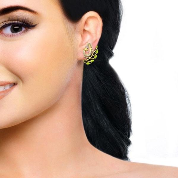 Dolly Peridot Earrings