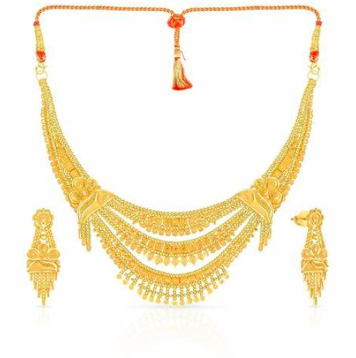 Malabar Gold Necklace Set
