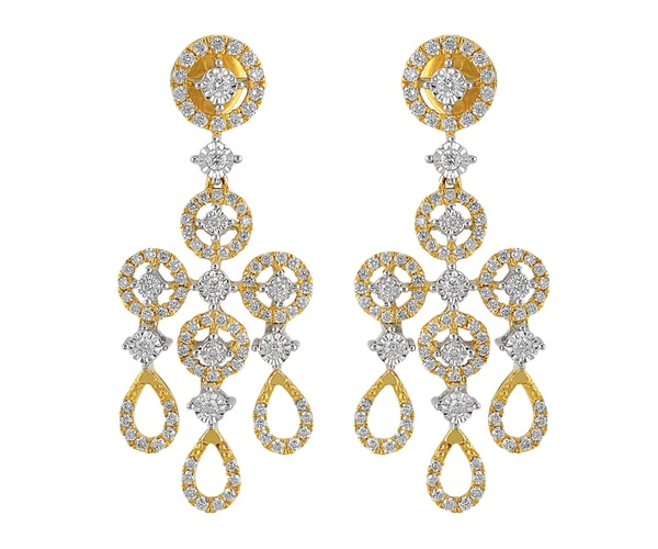 ORRA Diamond Hanging Earring
