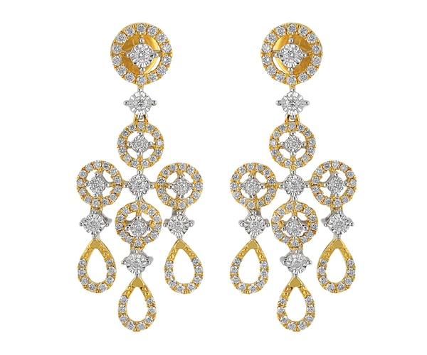 ORRA Diamond Hanging Earring