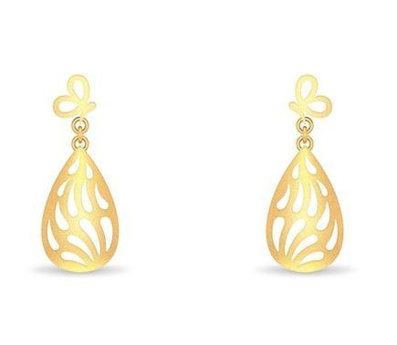 Paisley Drop Earrings