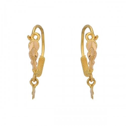 The Bhama Gold Earrings