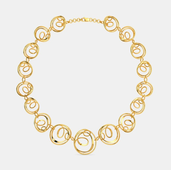 Latest Gold Necklace Designs You Would Love Ti But It