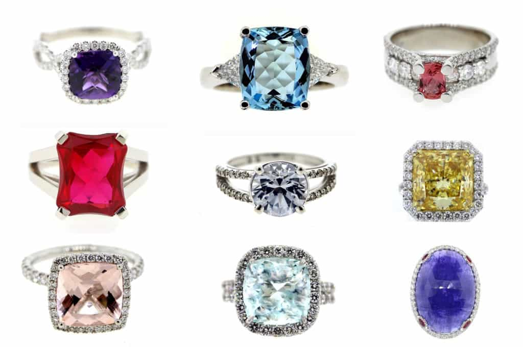 Coloured Stone Rings: Beware Of Which You Pick