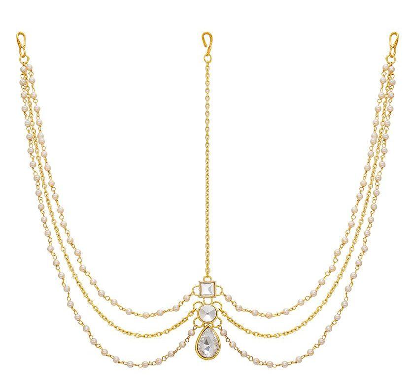 The Luxor Designer Gold Plated Stylish Damini