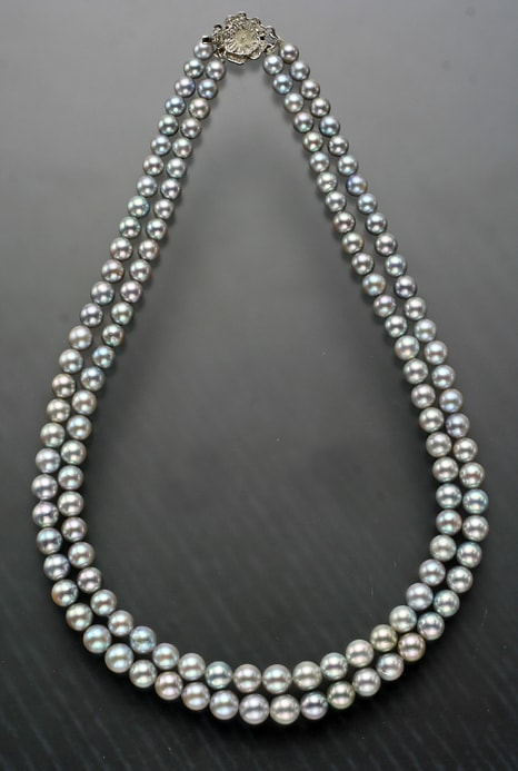 Akoya Saltwater Culture Pearls by Mangatrai