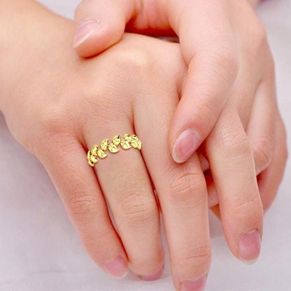 April Gold Ring