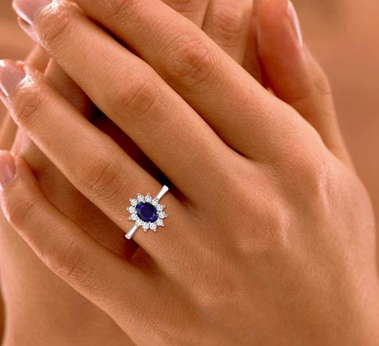 Azure Royal Ring