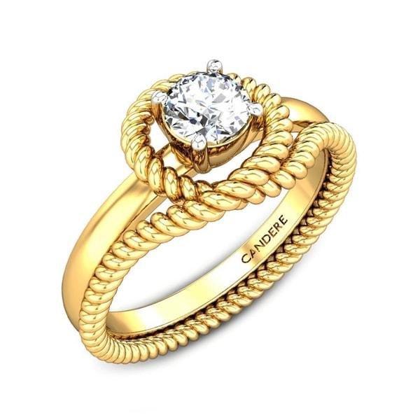 Crazy Dream Wrap Diamond Ring