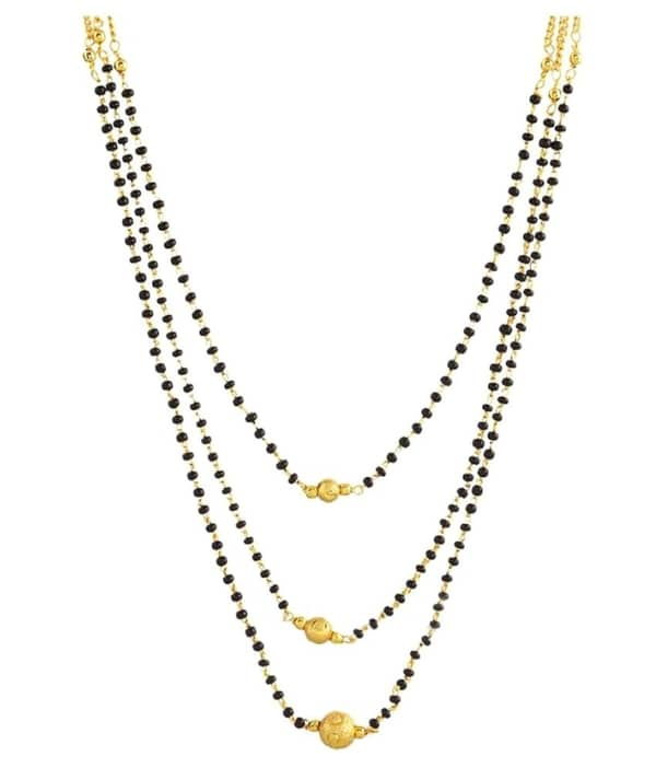 Gold Plated 3 Layer Mangalsutra