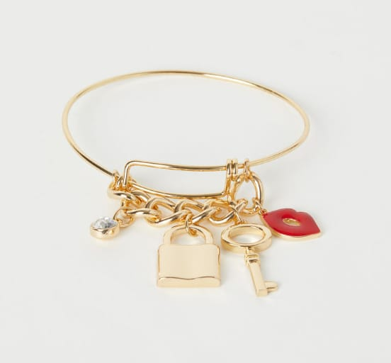 Bangle with pendants