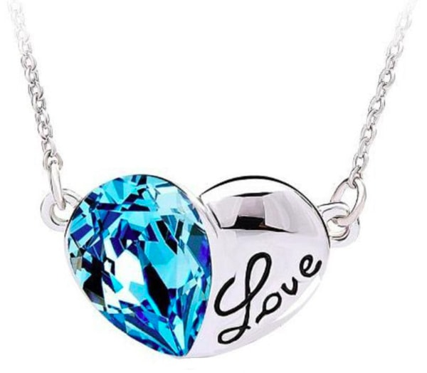 Double Heart Love Pendant