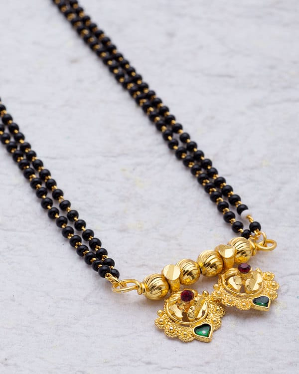 Gold Plated Traditional Mangalsutra