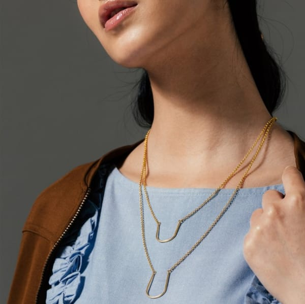LAYERED U NECKLACE