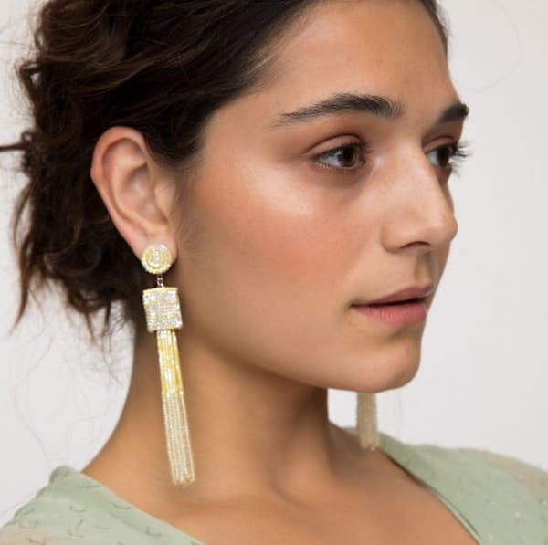 OMBRE TASSEL EARRINGS
