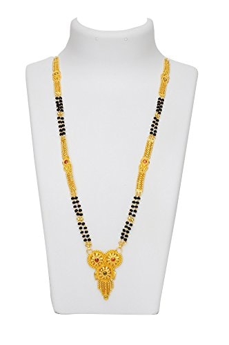 multi colour mangalsutra party wear for women