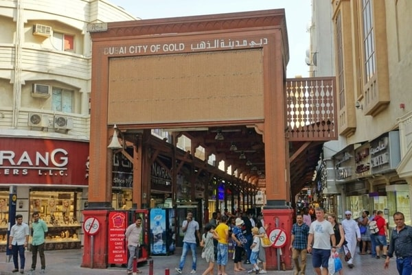 Souks at Dubai to buy Gold